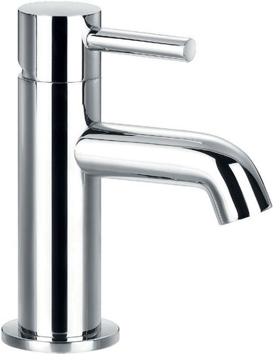 Flova Single Lever Mono Basin Mixer Bathroom / Cloakroom Tap with Clicker Waste