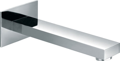 Square Design Wall Mounted Bath or Basin Spout